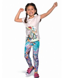 Gemstone Kids sports leggings