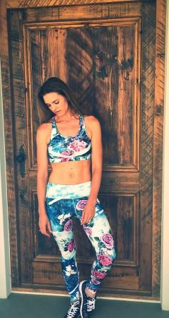 Blue Girl sports leggings