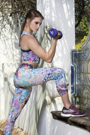 Gemstone Capris sports legging