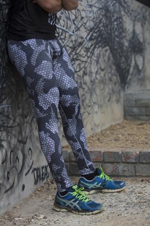 Camo Compression tights
