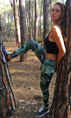 Myanmar sports leggings
