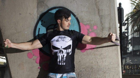 Punisher compression shirt